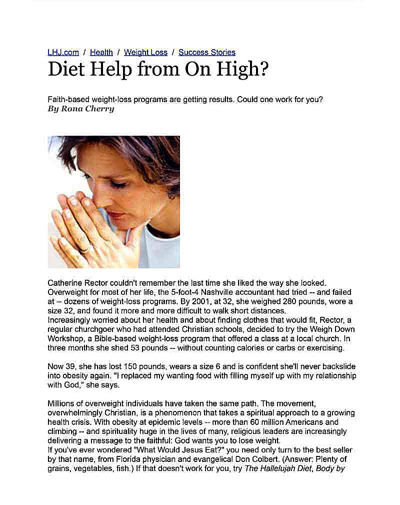 Diet article